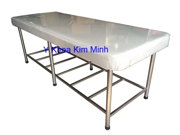 Giuong massage inox chan tron Y Khoa Kim Minh