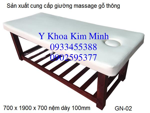 Cung cap giuong massage xong hoi Kim Minh