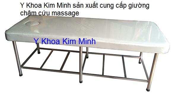 Giuong cham cuu massage matxa gia si tai Y Khoa Kim minh