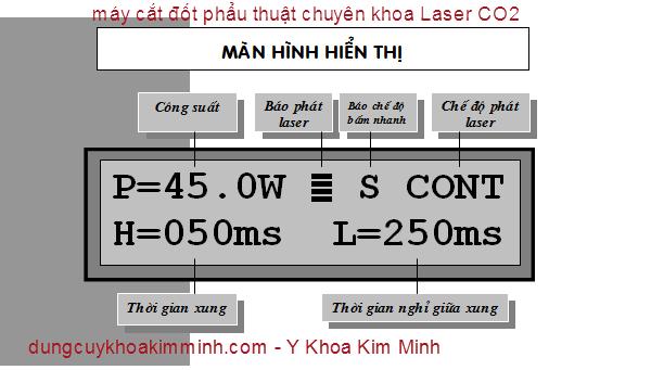 may cat dot phau thuat chuyen khoa Laser Co2 Y Khoa Kim Minh