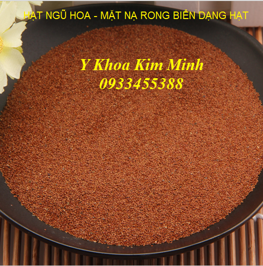 Hat ngu hoa dap mat cham soc da - Y Khoa Kim Minh