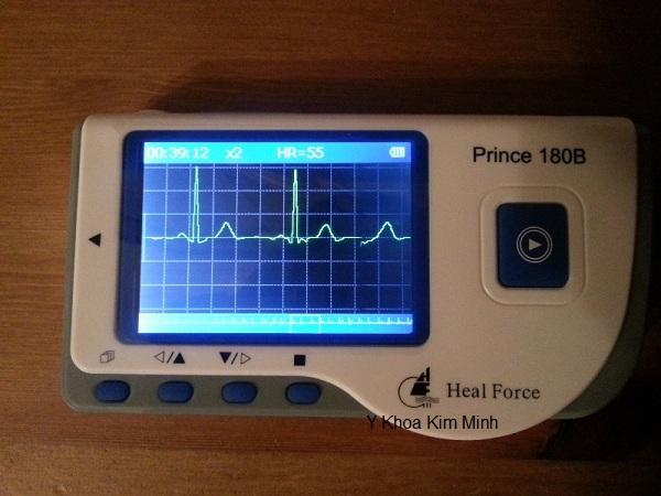 Máy đo tim mạch ngừa tai biến đột quỵ Prince-180B Y Khoa Kim Minh