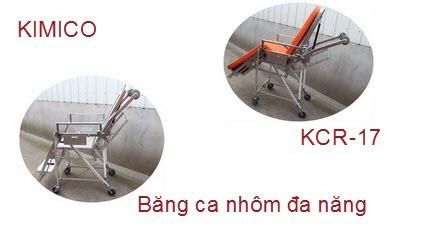 Băng ca xếp bằng nhôm KCR-17