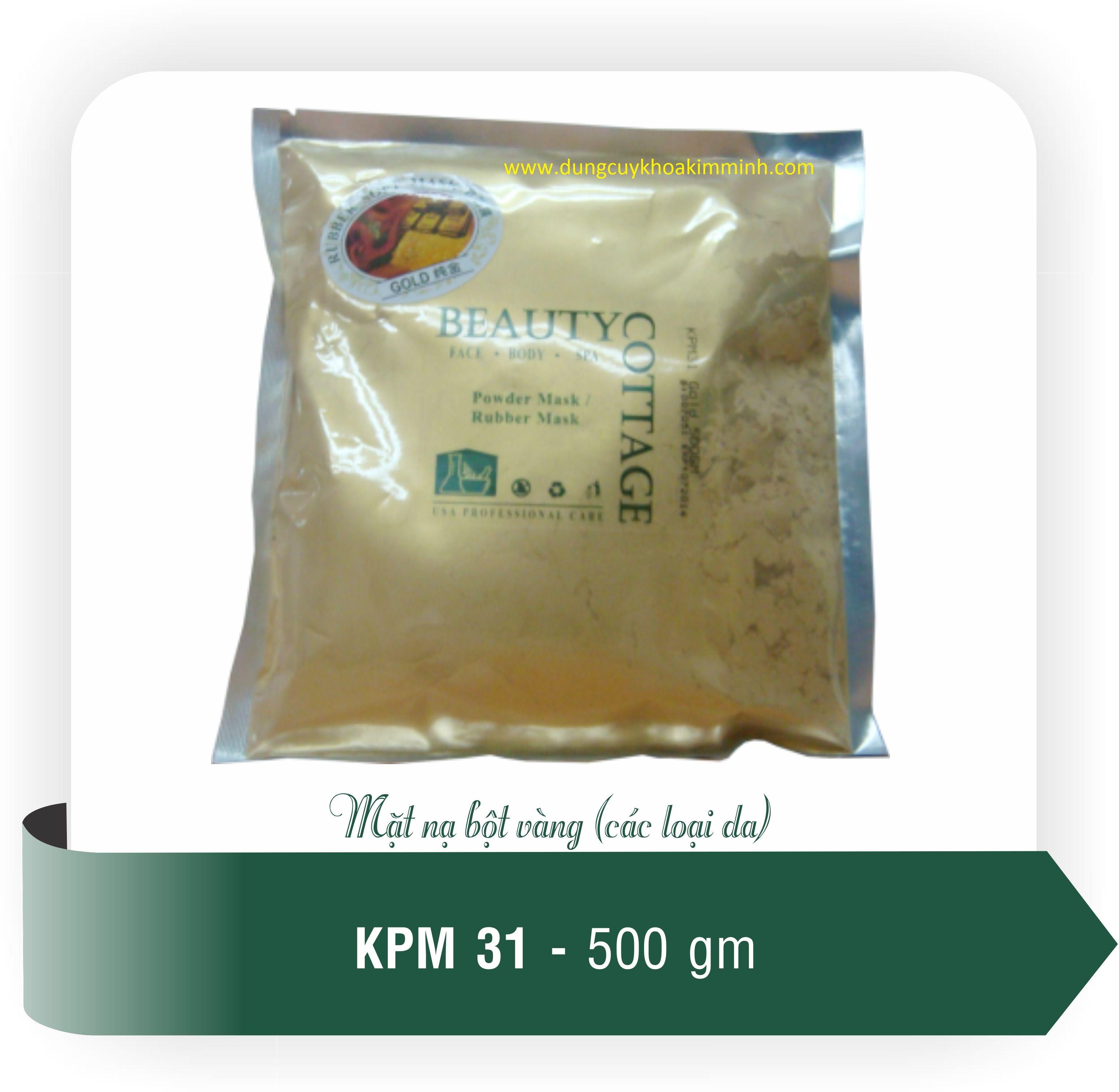 bột mặt nạ vàng nano 24K KPM31