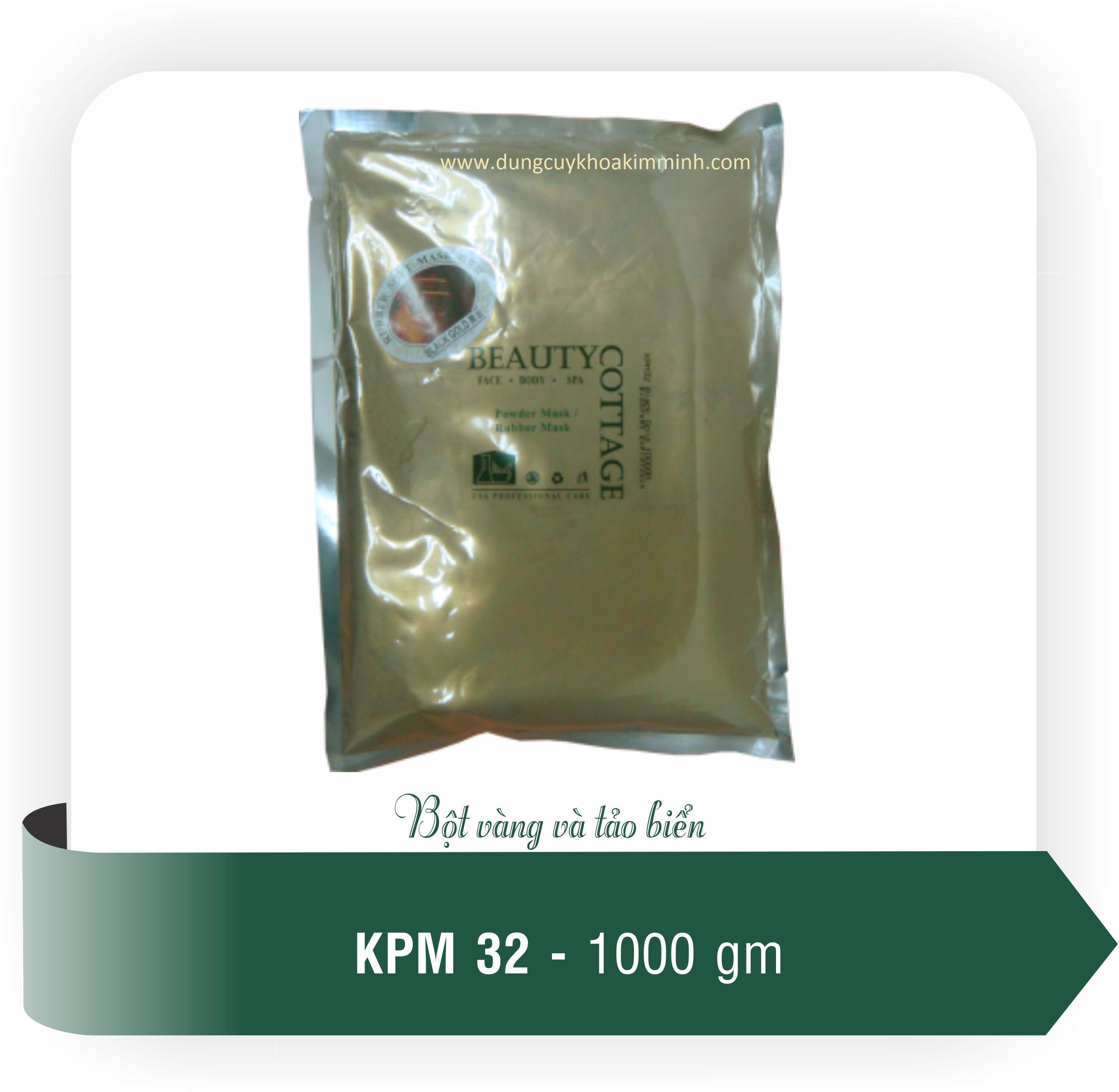 bột mặt nạ vàng đen tảo biển biển, KPM32