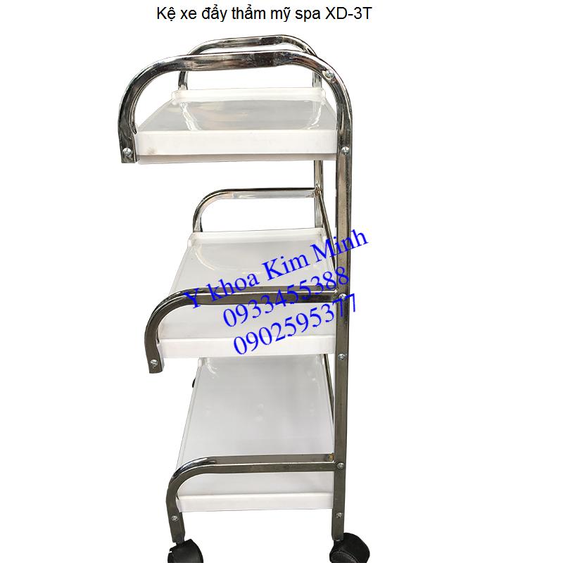 Kệ xe đẩy y tế 3 tầng Y Khoa Kim Minh