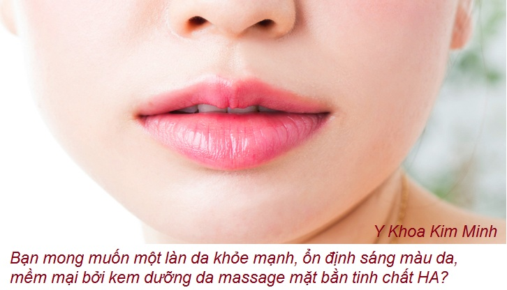 Lam cach nao duong trang da nhanh, hay su dung kem massage mat HA Thai Lan Y Khoa Kim Minh