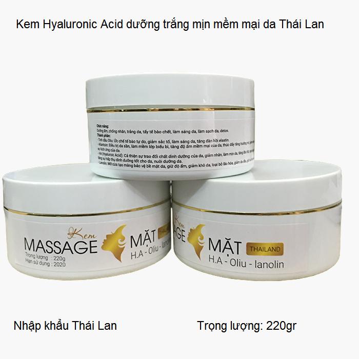 Kem massage mat sang da tri nam chong nhan HA Y Khoa Kim Minh