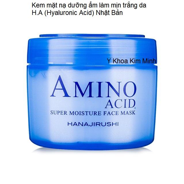 Mat na duong am bieu bi collagen tang sau Amino Acid Y Khoa Kim Minh
