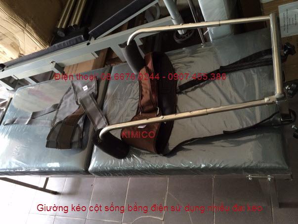Cách chữa trị bệnh đau cột sống bằng giường kéo cột sống KMK021