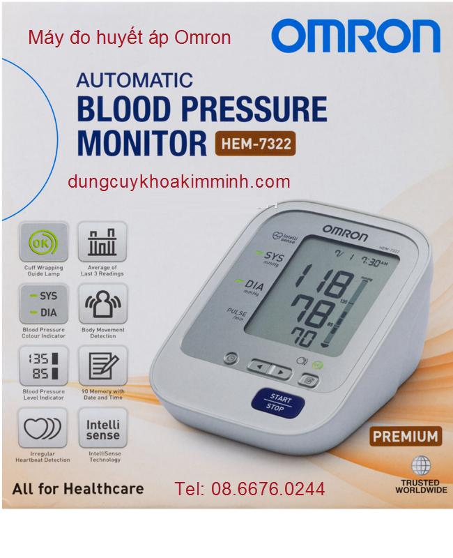 Máy huyết áp Omron Hem-7322