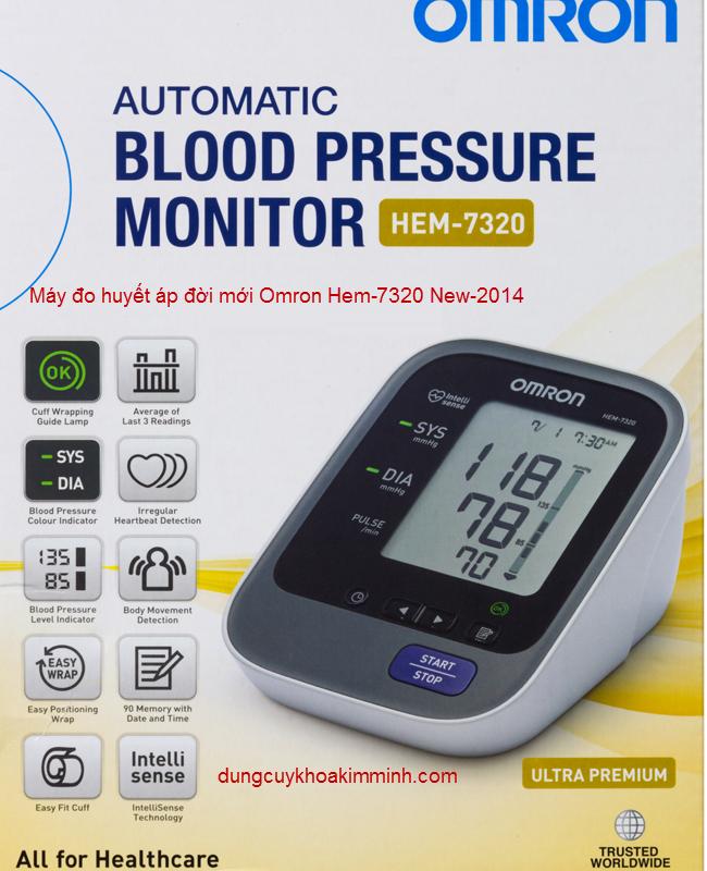Máy đo huyết áp Omron Hem-7320 chính xác