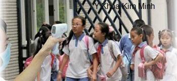 Máy đo thân nhiệt cho học sinh KM-8816H Y Khoa Kim Minh