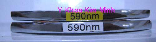 Kinh loc sang IPL 590nm dung tre hoa lam trang da may triet long elight Y Khoa Kim Minh