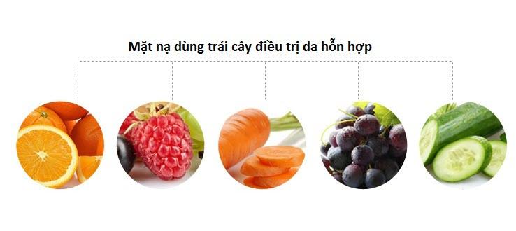 Máy mặt nạ làm trái cây hỗn hợp
