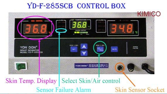 Lồng áp dưỡng nhi kỹ thuật số YD-F285SCB