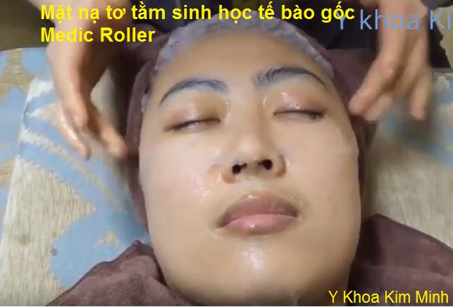 Mat na te bao goc duong da lam trang da sau lan kim hifu tiem duong chat Medic Roller Kim Minh