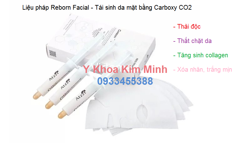 Tái tạo da mặt bằng liệu pháp Carboxy CO2 - Y khoa Kim Minh