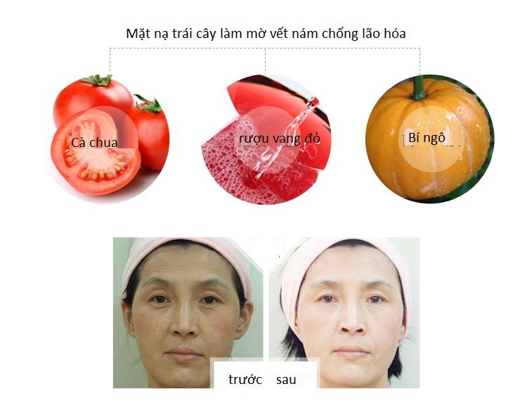 Máy làm mặt nạ trái cây nhập khẩu