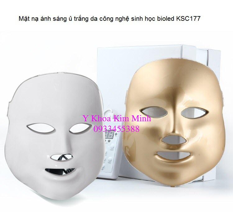 Mặt nạ ủ trắng sáng da sinh học bioled KSC177 địa chỉ bán đèn sinh học Y Khoa Kim Minh