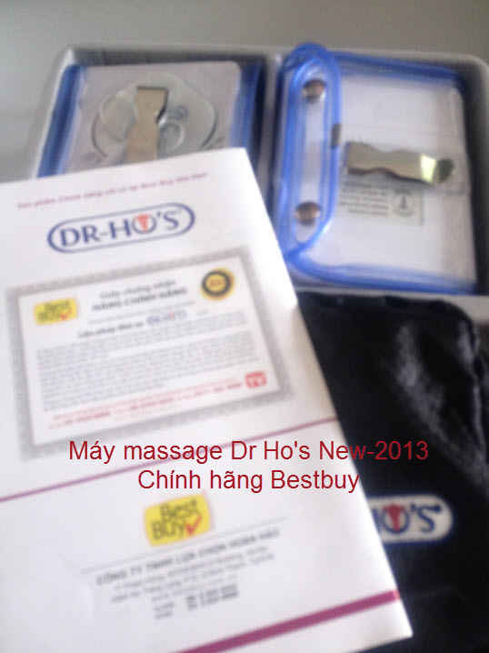 may massage tri lieu Dr Ho