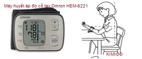 May huyet ap co tay Omron Hem-6221