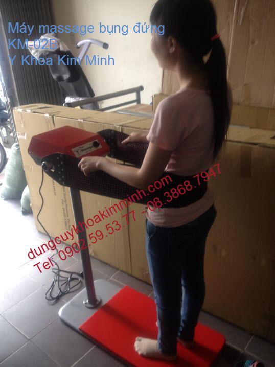 Massage bụng giảm béo Spa KM-02B Kim Minh