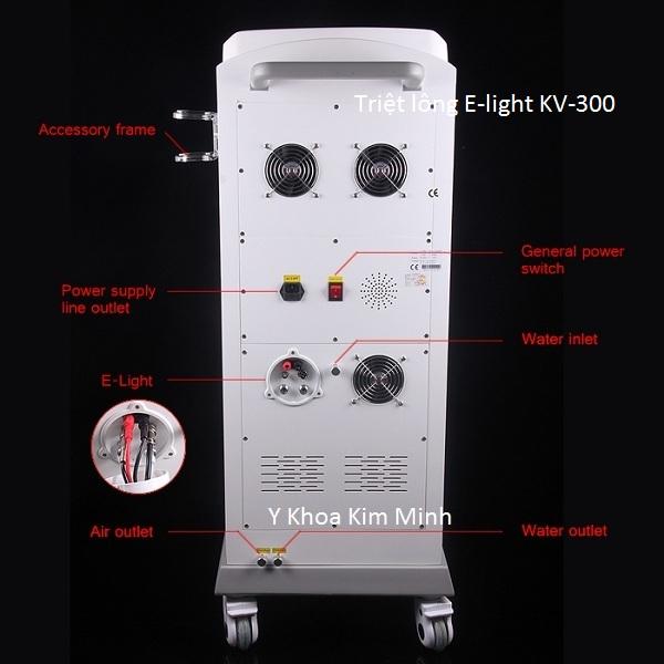 Máy triệt lông vĩnh viễn E-light đa năng KV-300 bán Y Khoa Kim Minh 5