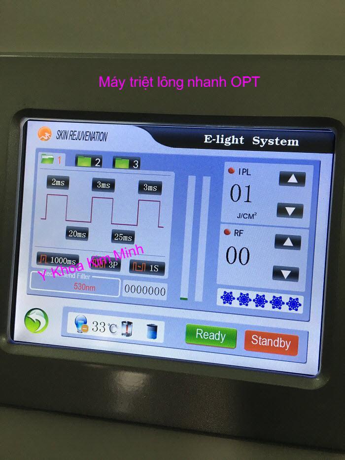 May triet long gia re Elight OPT KM-07 Y khoa Kim Minh