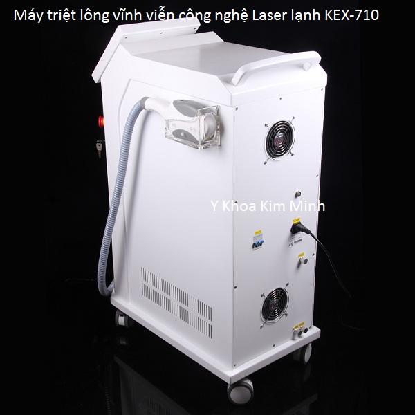 Máy triệt lông công nghệ OPT Laser IPL lạnh KEX-710