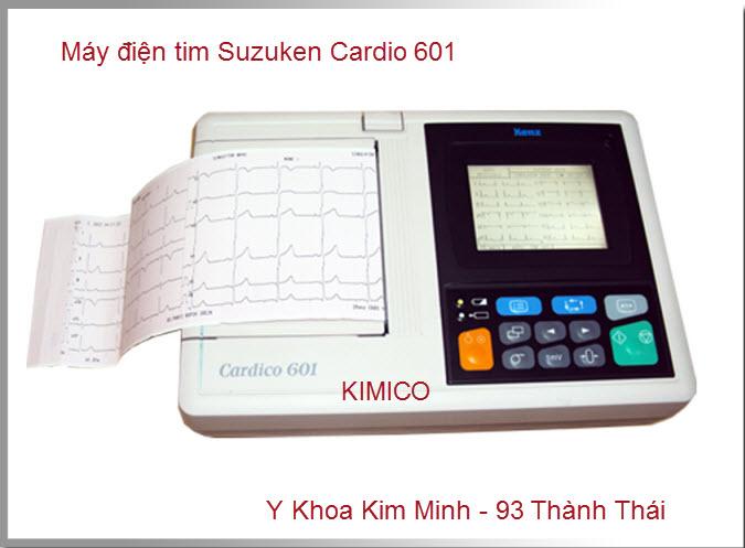 Máy điện tim 6 cần Cardio 601 hãng Suzuken