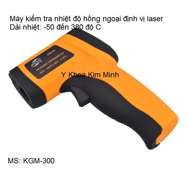 Máy kiểm tra đo nhiệt độ hồng ngoại -50℃ - 380℃ nhập khẩu Y Khoa Kim Minh