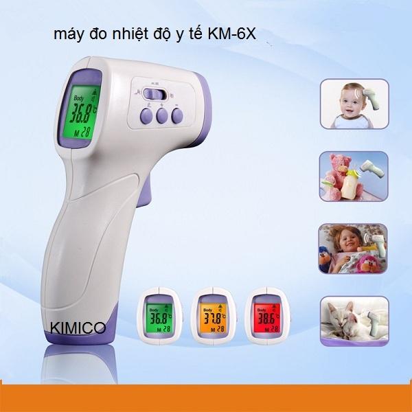Máy đo thân nhiệt hồng ngoại KM-6X Y Khoa Kim Minh