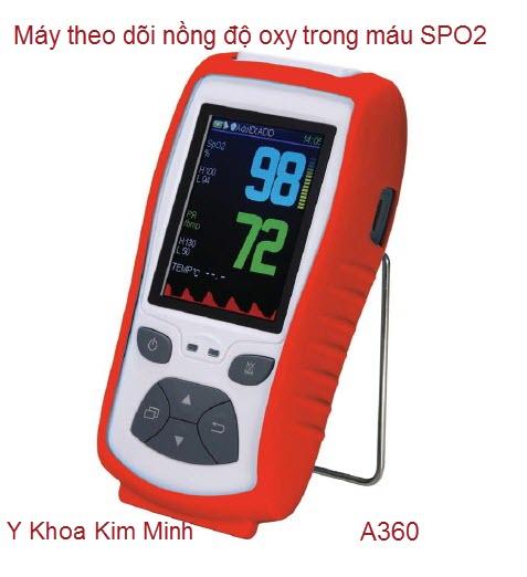 Máy theo dõi nồng độ oxy trong máu SPO2
