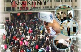 Máy đo thân nhiệt kiểm tra dịch cúm KM-8816H