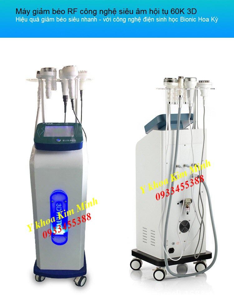 Máy giảm béo RF 3D công nghệ siêu âm hội tụ 60K - Y Khoa Kim Minh 0933455388