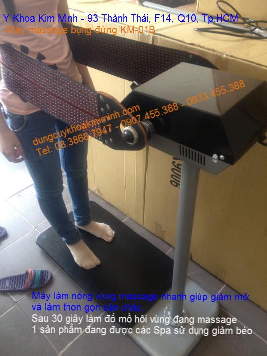 Máy massage rung đứng giảm béo