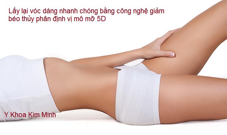 May giam beo 5D công nghệ thủy phân định vị mô mỡ Kim Minh