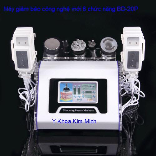 Máy giảm béo RF kết hợp Vacuum Caviation Diode Laser BD-20P