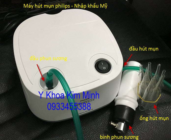 May hut mun mini ca nhan Philip Y Khoa Kim Minh