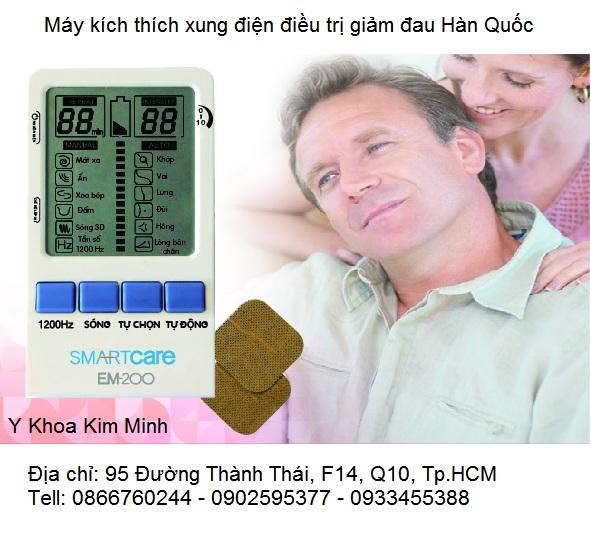 May kich thich xung dien dieu tri giam dau EM-200 Hàn Quốc Y Khoa Kim Minh phân phối giá tốt