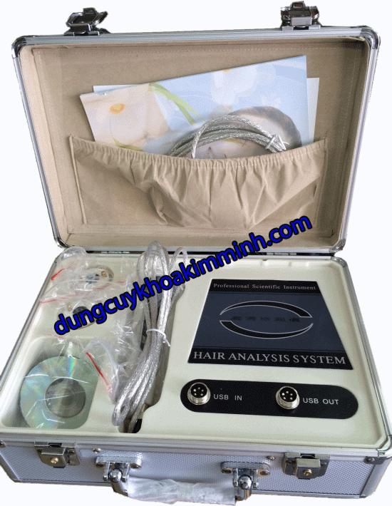 máy kiểm tra da tóc kết nối bằng vi tính B-326