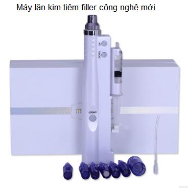 Máy lăn kim kết hợp tiêm filler đời mới 2018 sử dụng lăn tiêm căng bóng và điều trị nám bằng tế bào gốc mầm E Most 100% Nhật Bản - Y Khoa Kim Minh