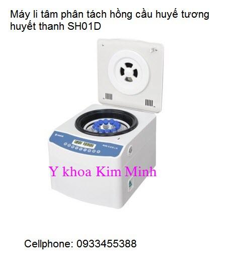 May ly tam phan tach hong cau huyet thanh huyet tuong SH01D Y khoa Kim Minh