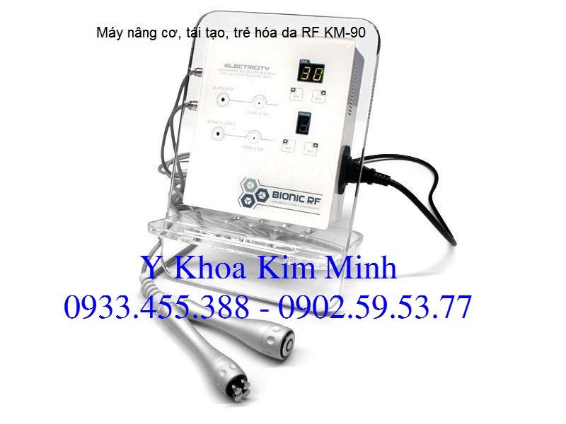 Serum EGF sử dụng với máy tái tạo trẻ hóa da RF mini Y khoa Kim Minh