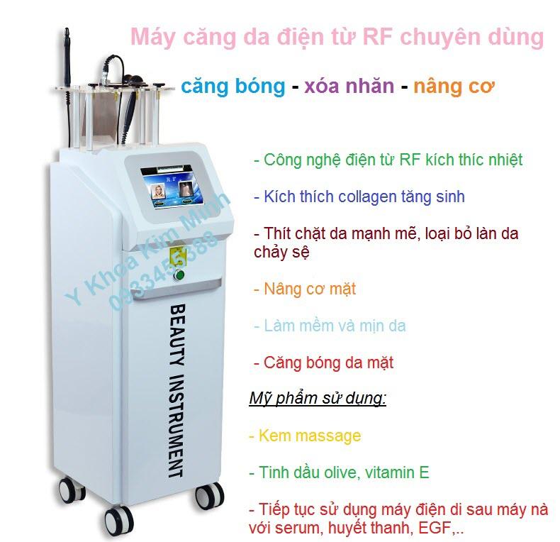 May RF nang co xoa nhan tre hoa da T2005 Kim Minh 0933455388