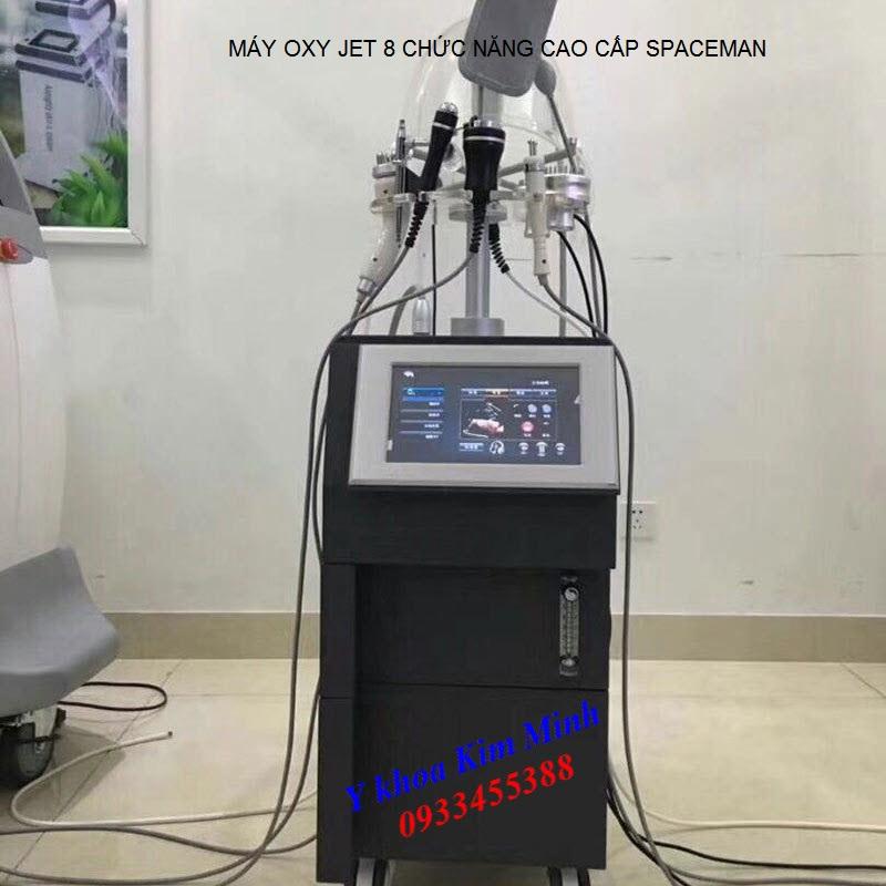 Máy oxy jet 8 chức năng Spaceman cao cấp - Y Khoa Kim Minh 0933455388
