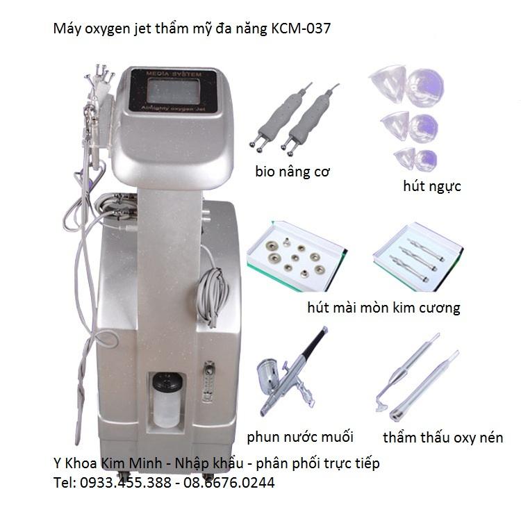 Máy phun oxy jet thẩm mỹ chăm sóc da mặt