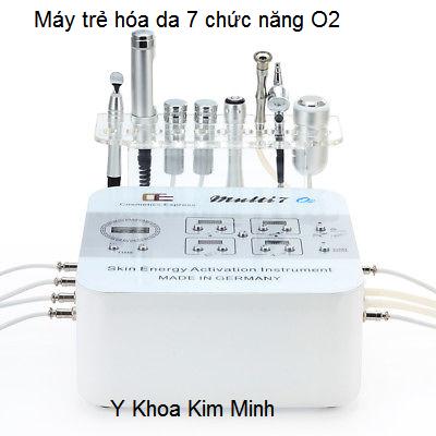 Máy trẻ hóa da 7 chức năng O2 Y khoa Kim Minh 0933455388