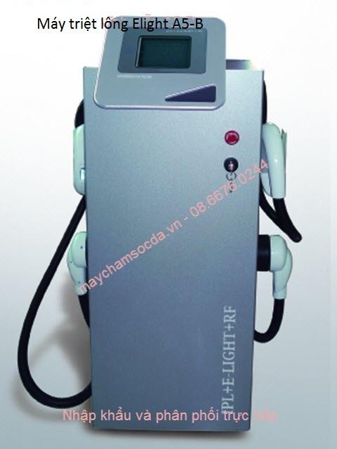 máy triệt lông 2 tay cầm Elight IPL + RF A5-B